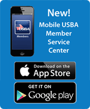 New! Mobile USBA Member Service Center. Download on the AppStore