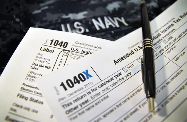 USBA blog - help with taxes for military