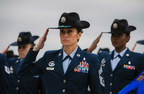 Women (in the military) history month celebration